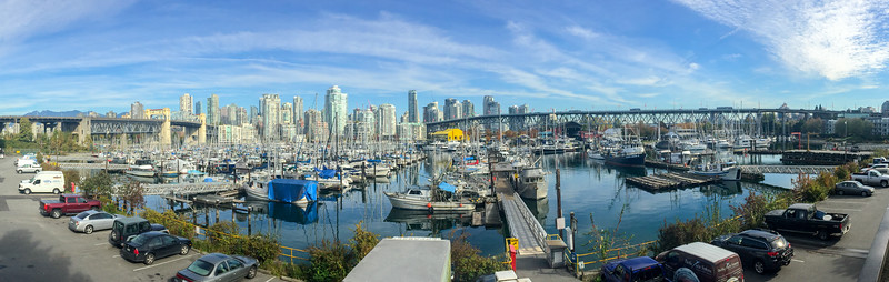 A nice looking panorama from some site in Vancouver.  It's a beautiful city - much resepct for that town.