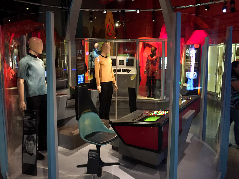 "I visited the ""Experience Music Project"" Museum in Seattle.  They had a special exhibit of the orginal equipment and costumes from Star Wars.  I'm not a huge Trekkie, but that's something to see!"