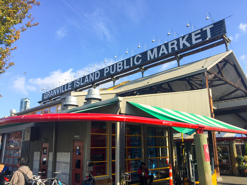 Granville Island is a island in the middle of Vancouver if you love to shop.  I don't...but I do love...