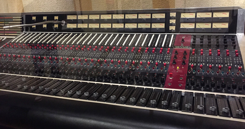 Jimi Hendrix's mixing board.  I wonder if Matt Broom would trade SMPC's board for this.  It has the same sign (look in the top right)
