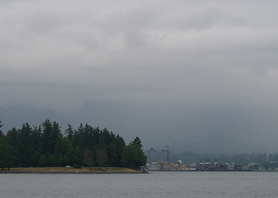 Stanley Park and NorthShore Shipyards