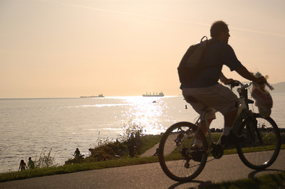 Bicycling in Vancouver B.C.