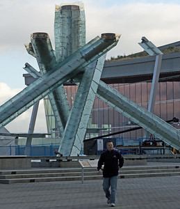 The was where the Olympic flame burned, also medal ceremonies.