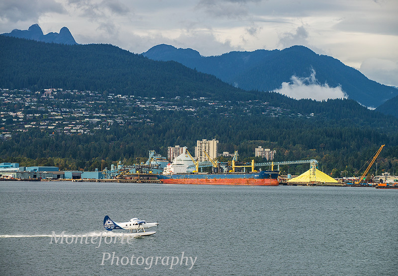 Looking north to North Vancouver