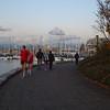 Evening harbor, Vancouver, Canada
