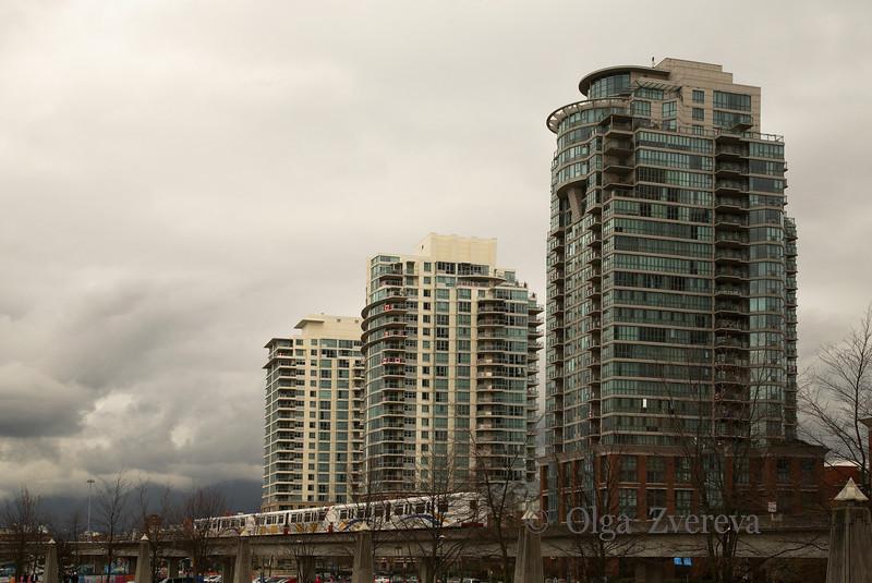 <p>Sky Train, Vancouver, British Columbia, Canada</p>