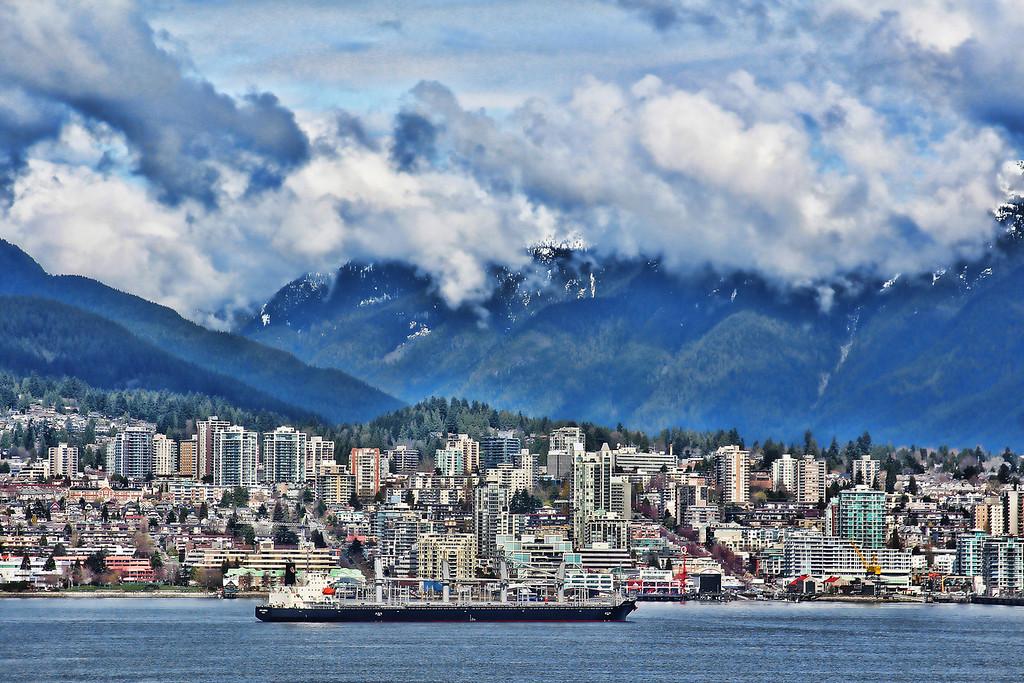 Vancouver British Columbia, City View