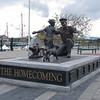 Homecoming sculpture in honor of Canadian Navy 100 Year celebration, Victoria BC.