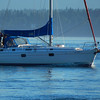 Beneteau Oceanis 40 approching Campbell River