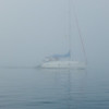Seymour Narrows in the Fog