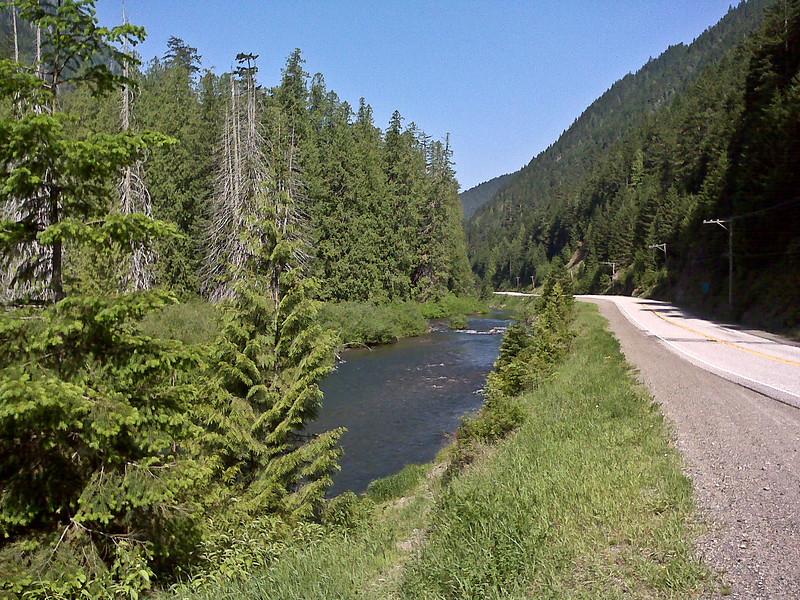 Mountain streams were everywhere.