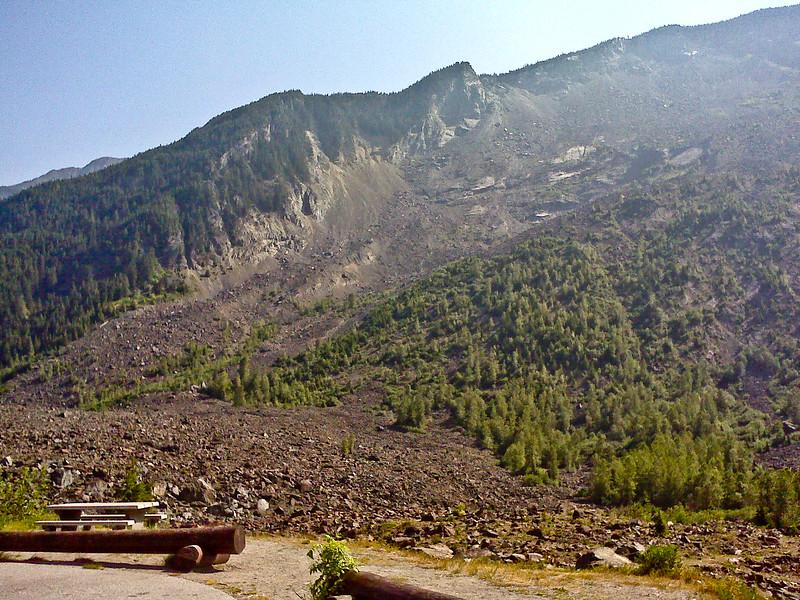 Hope landslide (part of it)