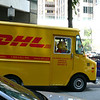 The DHL drivers look a little different in Canada...