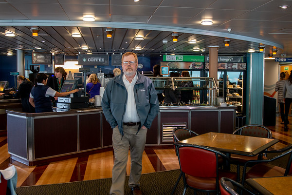 Coffee bar on deck 6