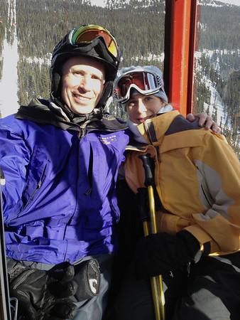 Randy & Calla in Peak to Peak Gondola
