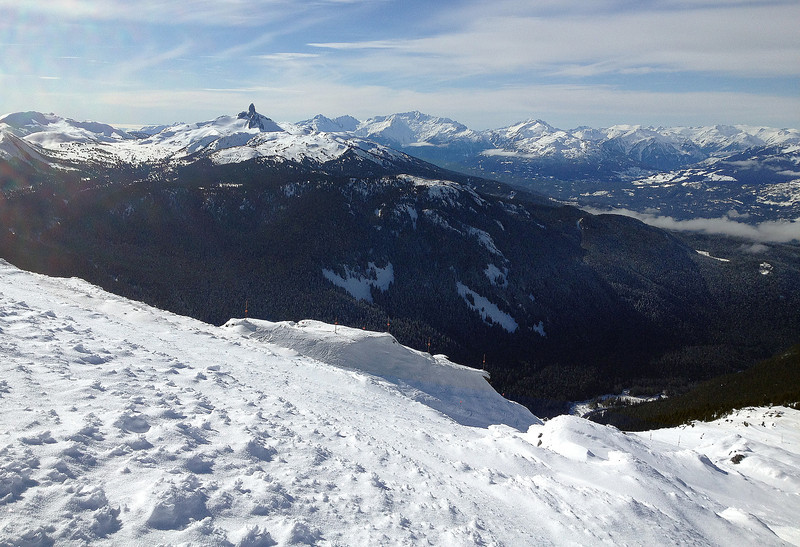 Black Tusk from the top of Whistler