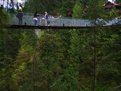 Capilano Suspension Bridge, North Vancouver