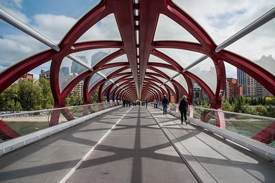 Calgary, Peace Bridge