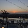 Sunrise over Saddleback.