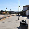 The start of the adventure, Charles dropped me off at the San Luis Obispo, California Amtrak train station.