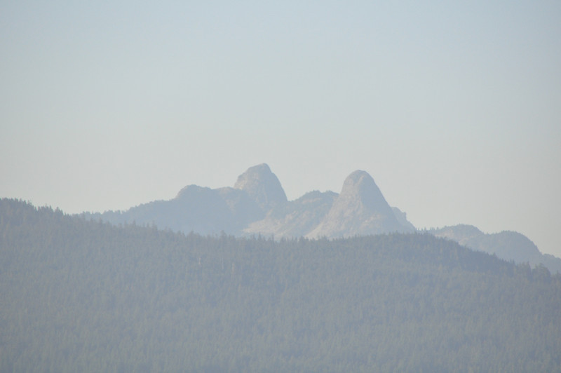 These are the two Lions (rock formations) of the Lions Gate area.