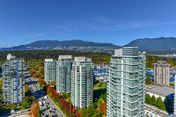 Vancouver, Canada Skyline