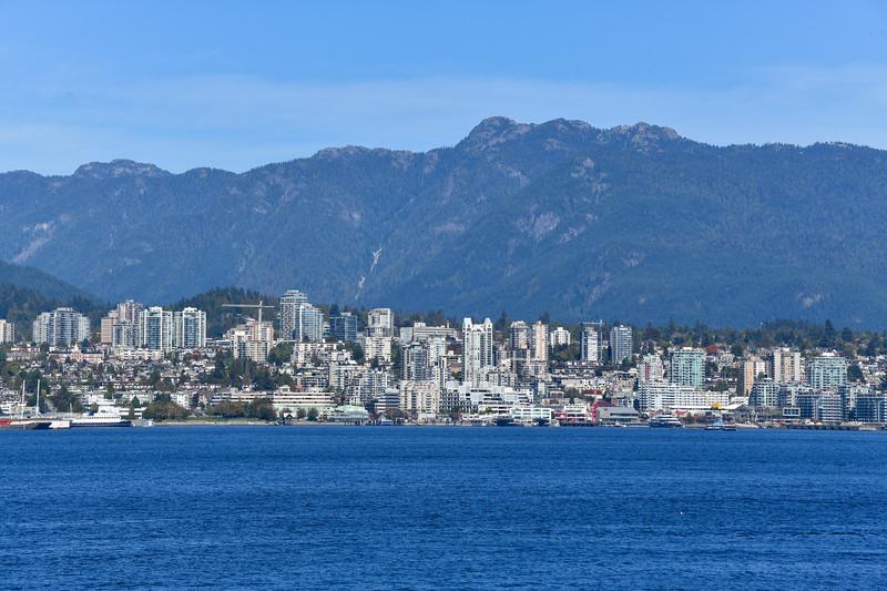 North Vancouver Skyline - Canada