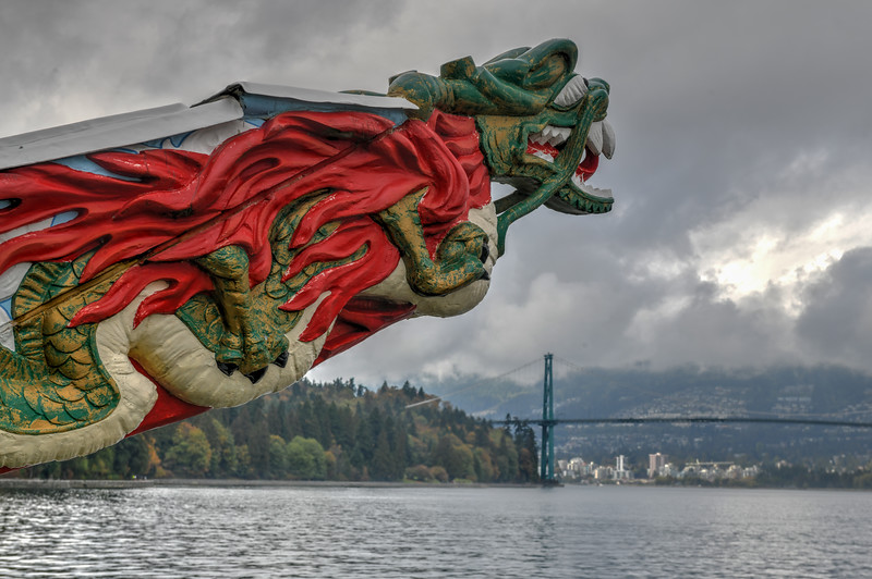 SS Empress of Japan Figurehead - Vancouver, Canada