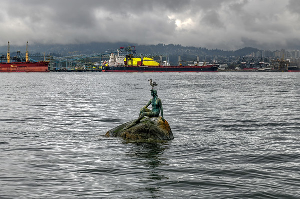 Girl in a Wetsuit - Vancouver, Canada