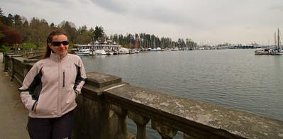 Margaret at Vancouver Marina