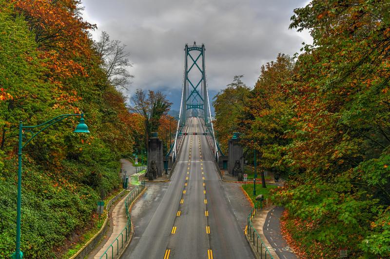 Lions Gate Bridge - Vancouver, Canada
