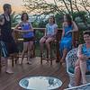 Evening drinks with Aussie friends