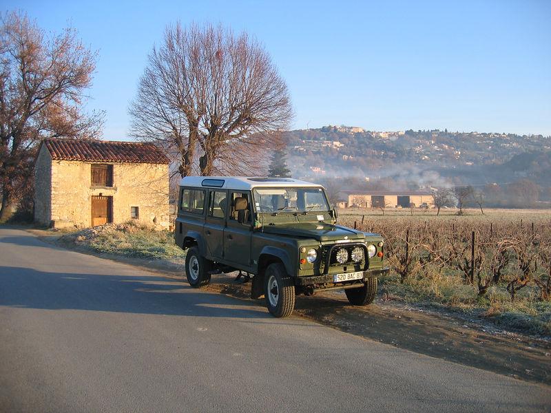 Landy  in the valley in Callian