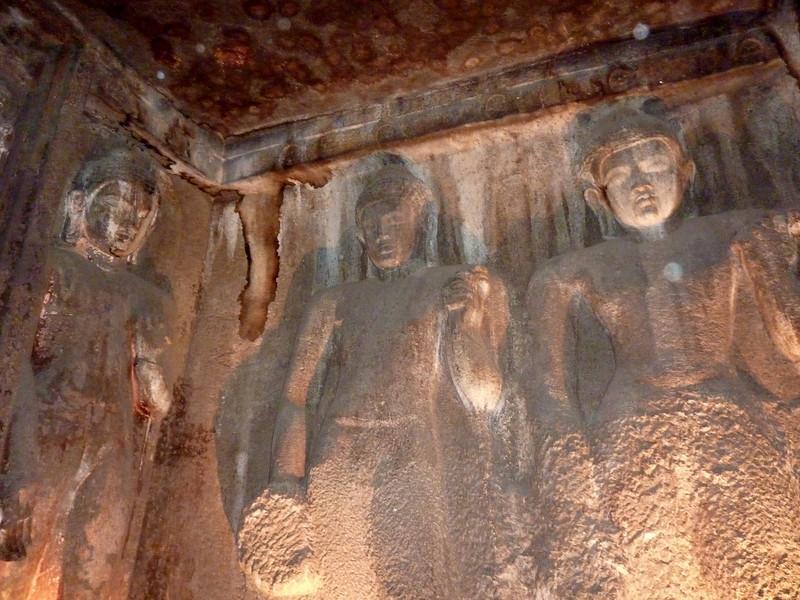 Ajanta Caves - Sculpture