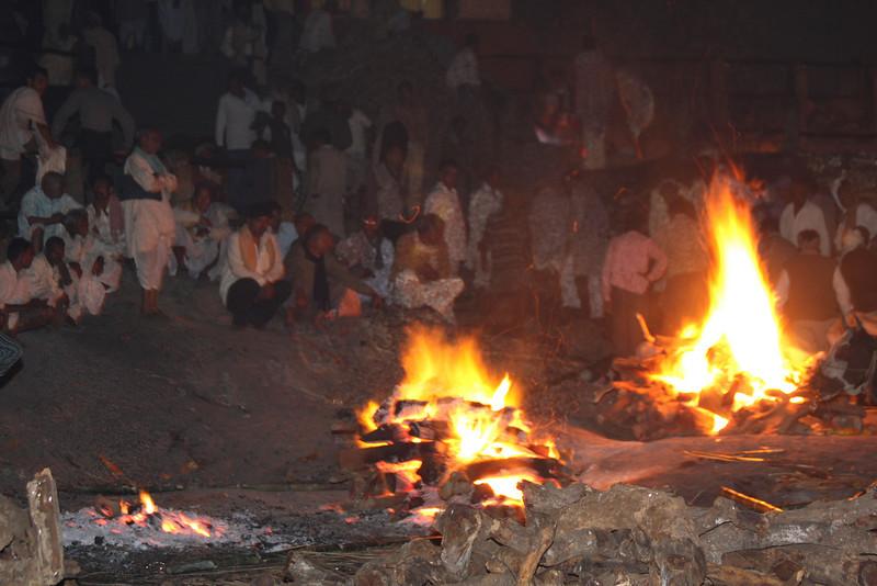 Burning Ghat - Cremation
