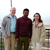 Craig and Jeane with Varanasi Guide, Pappu