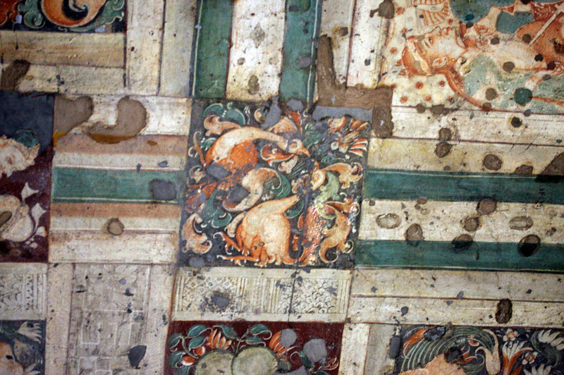 Ajanta Caves - Ceiling Painting