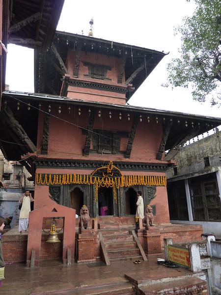 Small Hindu Temple, Varanasi
