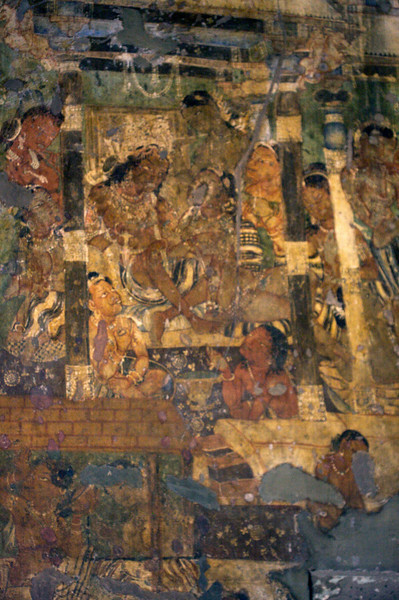 Ajanta Caves - Painting