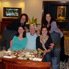 Craig and Jeane with Rotary Club of Avon-Canton Youth Exchange Student Chloe, her Aunt Mitzi and her Mother Ann - Radisson Hotel Club Lounge, Delhi
