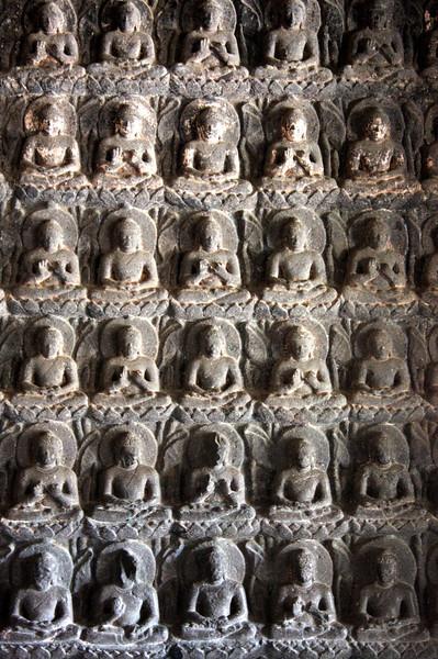 Ajanta Caves - Buddha Carvings