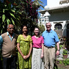 Craig and Jeane with Pahuna Haveli owners Hemant and her husband.