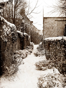 Crespieres Under The Snow