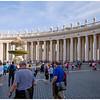 West Colonnade, Piazza San Pietro.