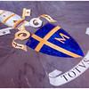 Pope John Paul II's Coat of Arms in the floor of the Basilica.