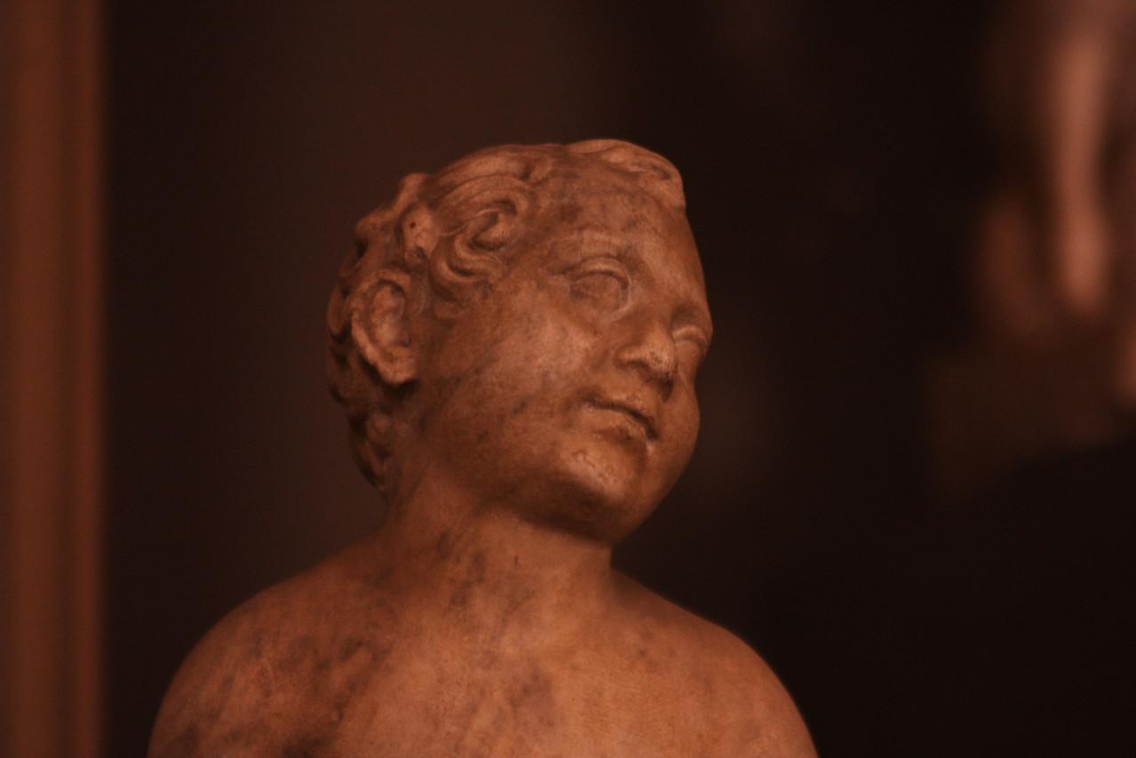 A sculpture.