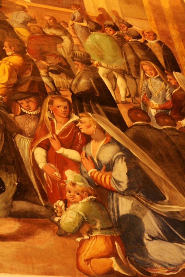 Part of a fresco.