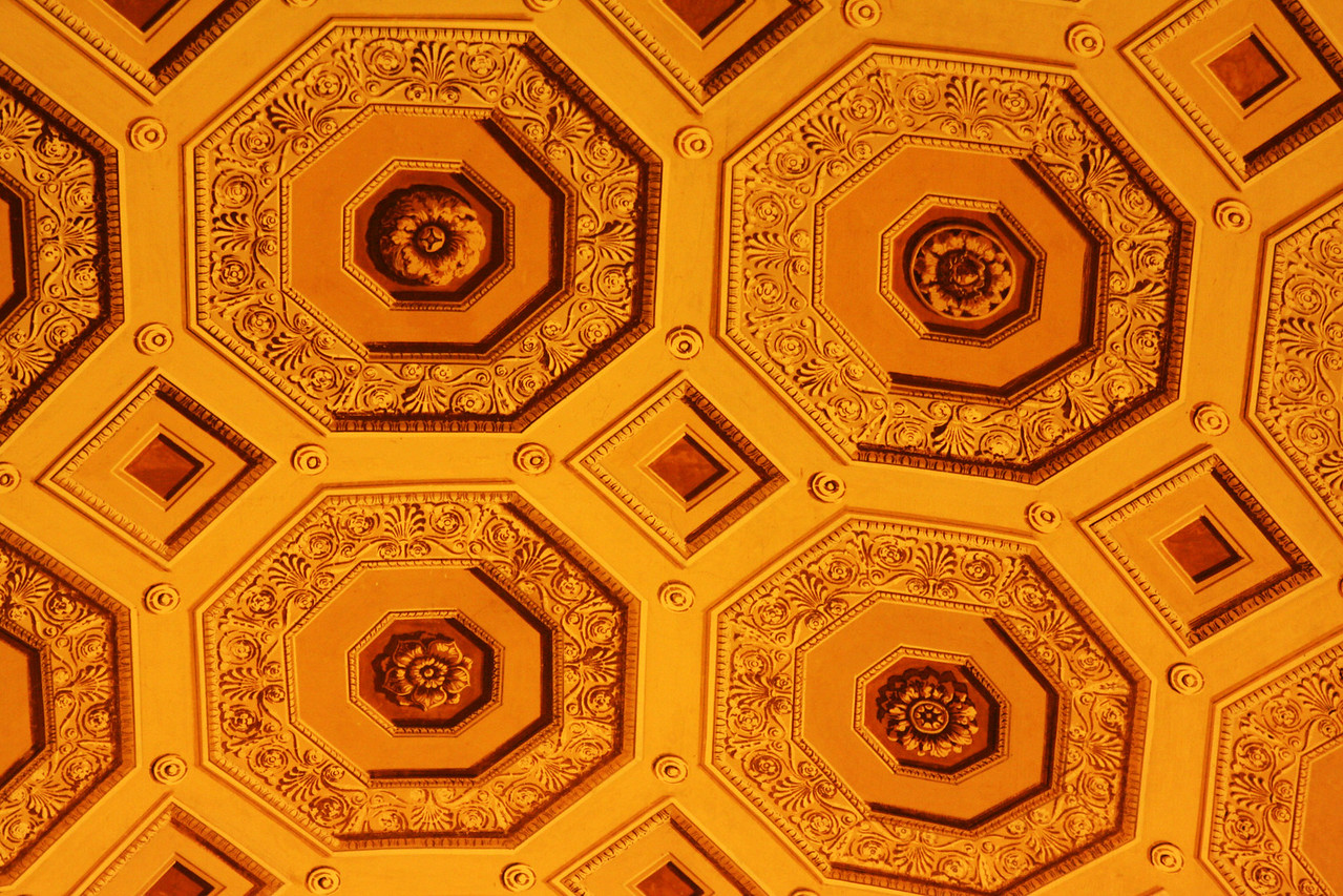 A Vatican ceiling.