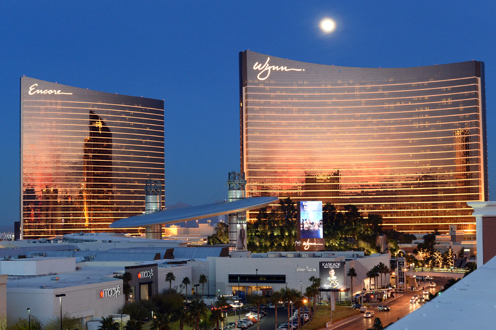 Wynn Encore at Dusk