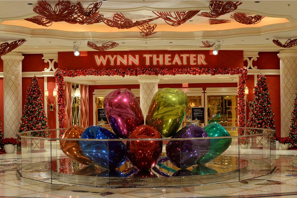 Wynn Theater Jeff Koons Tulips